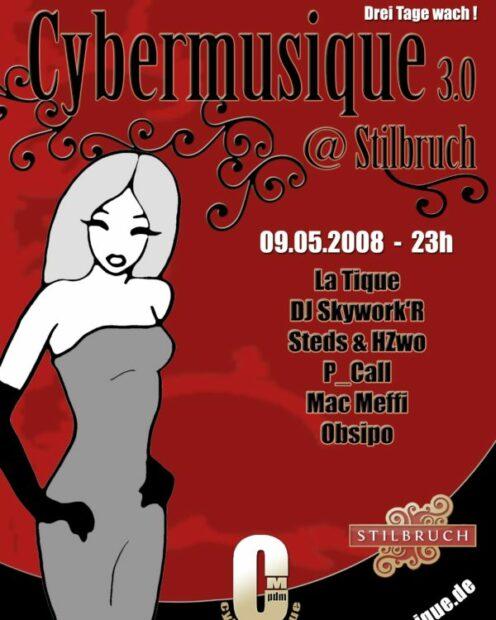 Cybermusique 3.0, cybermusique, Stilbruch, Potsdam, La Tique