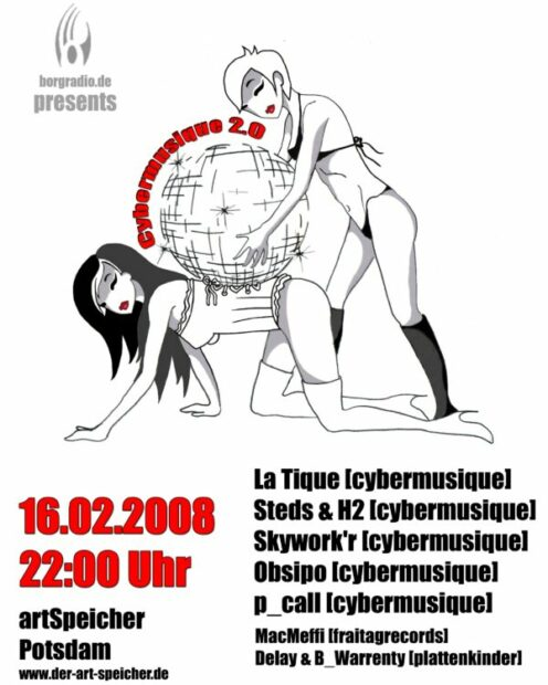 Cybermusique 2.0, cybermusique, Stilbruch, Potsdam, La Tique