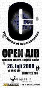 Cybermusique, The Sound of Cybermusique, Open Air, La Tique
